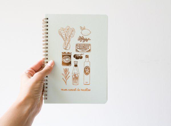 Carnet de recettes - Mon épicerie Les éditions du paon - maison mathuvu