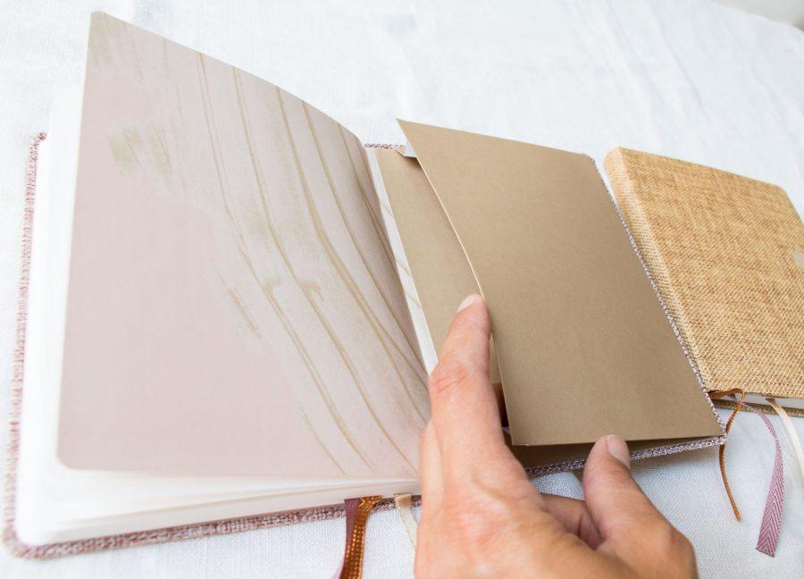 Notebook A6 - Lin Tinne + Mia - maison mathuvu