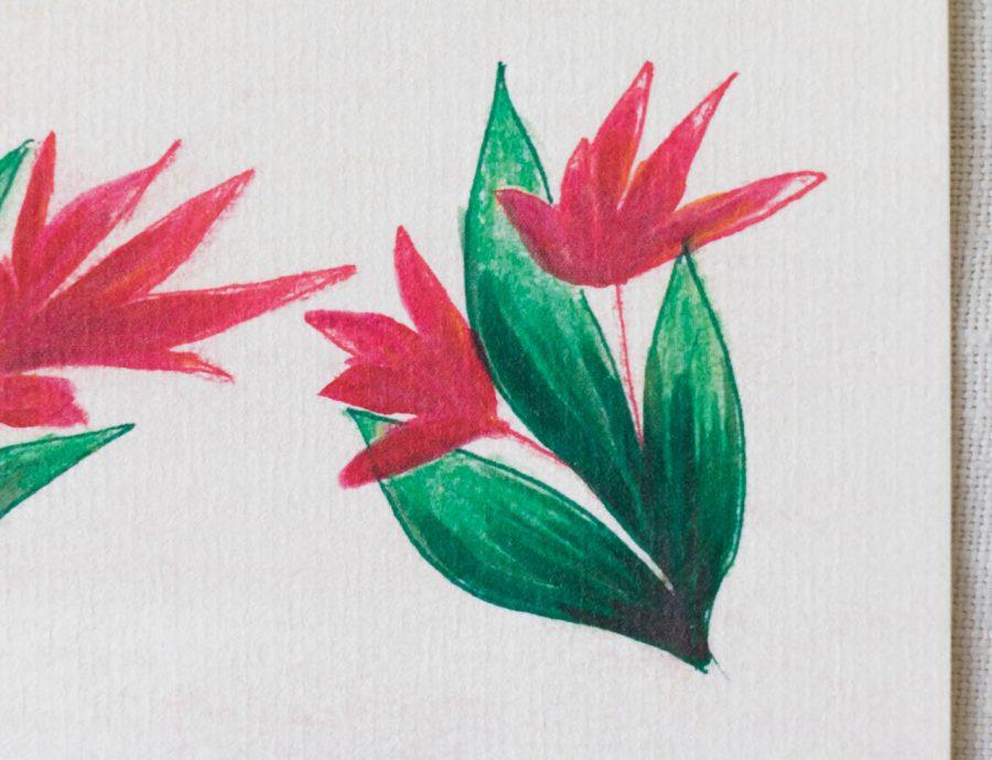 Carte - Floral Maison mathuvu