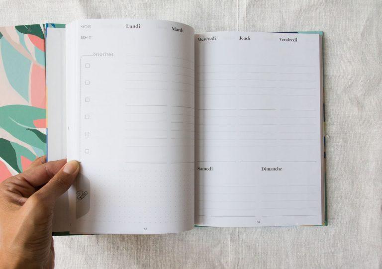 Planner 12 mois - Jungle Hisoire d'écrire - maison mathuvu