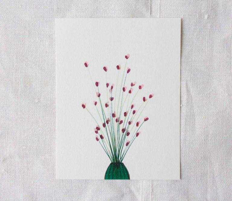 Carte - Bouquet Maison mathuvu