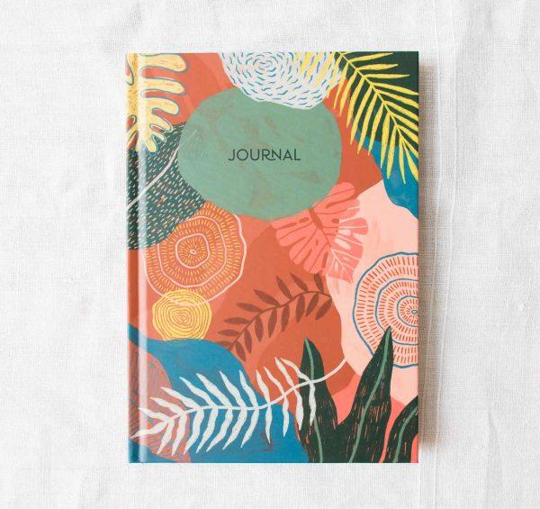 Journal - Rouge indien Histoire d'écrire - maison mathuvu