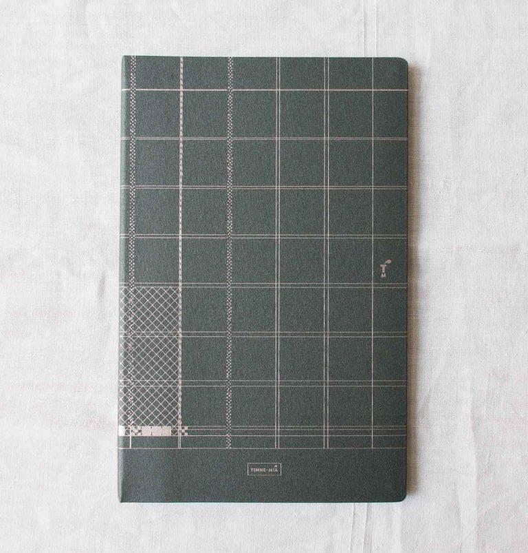 Notebook A4 Lin - indigo Tinne + mia - maison mathuvu