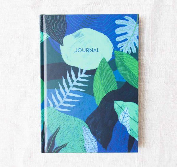 Journal - Bleu nuit Histoire d'écrire - maison mathuvu