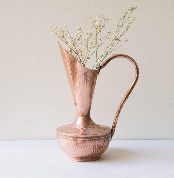 Vase - Cuivre - Pièce chinée - Maison Mathuvu