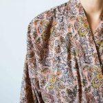 Kimono - Fleur rose Madam stoltz - maison mathuvu