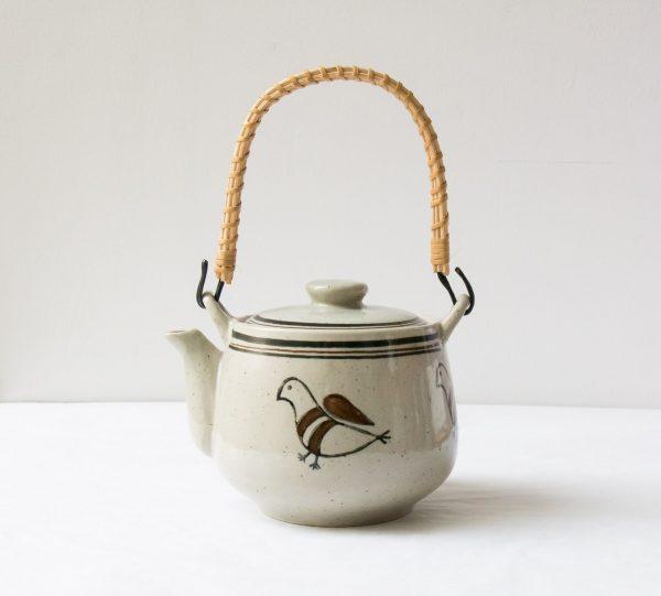 Théière - Oiseau chinée - Maison mathuvu