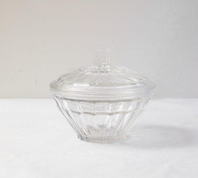Boîte en verre - Haut chinée - maison mathuvu