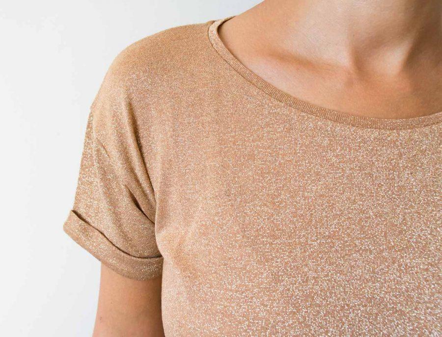 T-shirt pailleté - Ambre Emile et ida - maison mathuvu