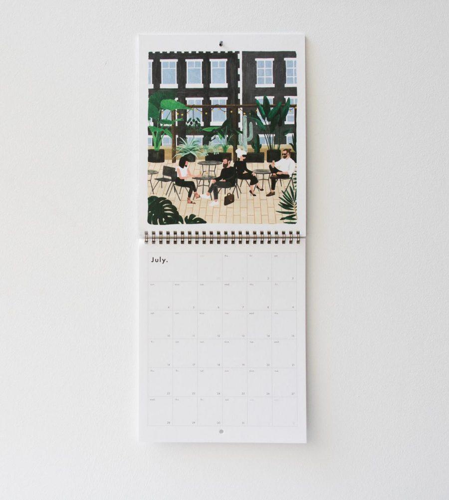 Calendrier 2021 - Urban jungle All the ways to say - maison mathuvu