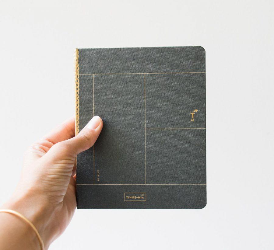 Notebook A6 Lin - Vert forêt Tinne + Mia - Maison mathuvu