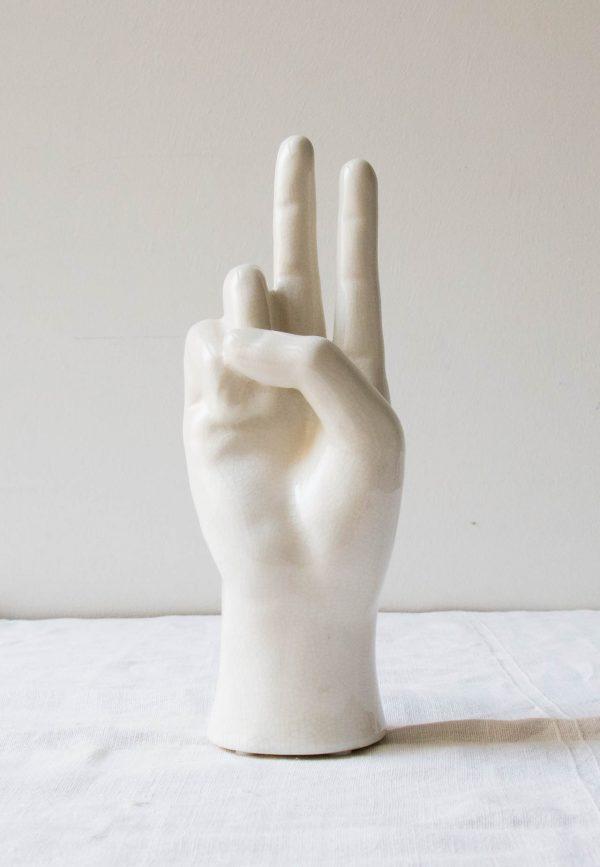 Main en céramique - Victoire Chehoma - maison mathuvu