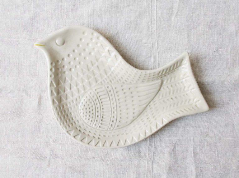 Ravier - Oiseau blanc Bloomingville - maison mathuvu