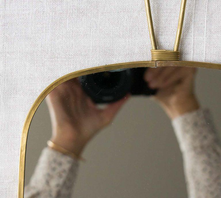 Petit Miroir - Organique House doctor - maison mathuvu