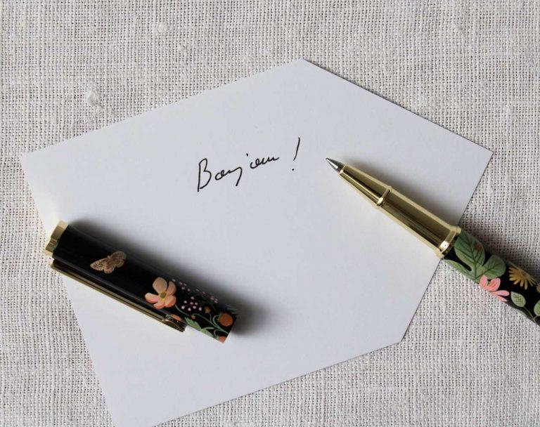 Stylo - Floral Rifle paper co - maison mathuvu