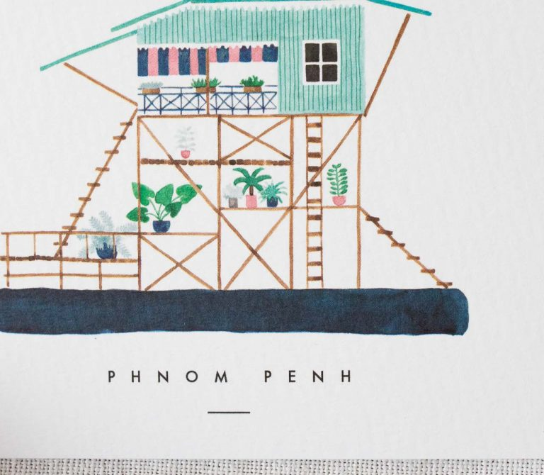 Carte - Phnom Penh All the ways to say - maison mathuvu