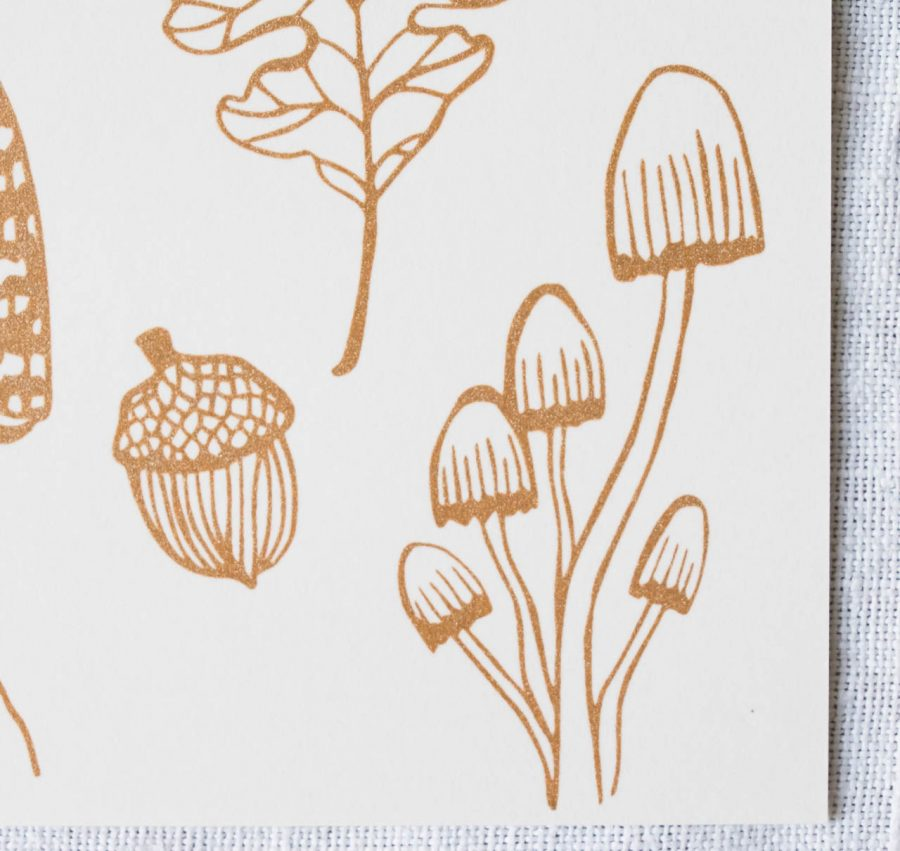 Carte - Winter botanic Rugiada Petrelli - maison mathuvu