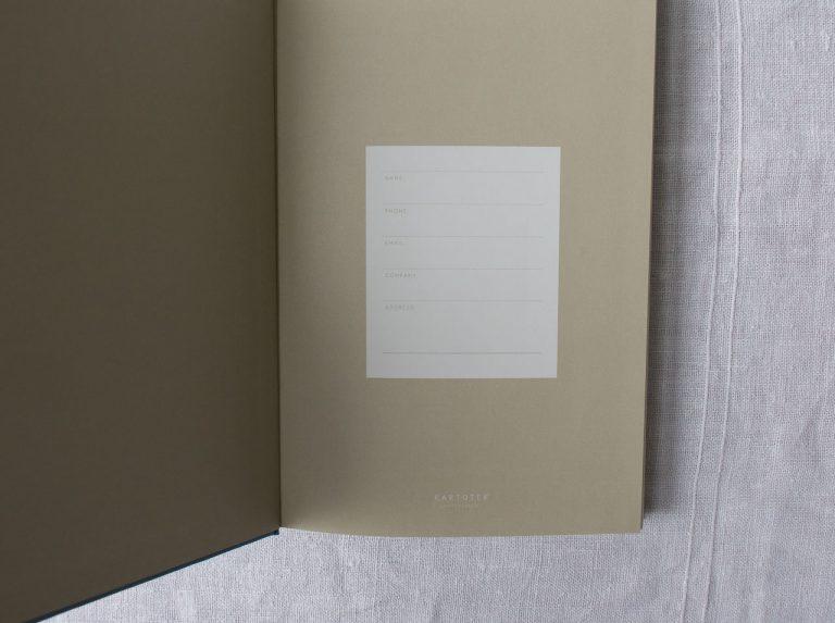 Journal - Bleu clair Kartotek - maison mathuvu