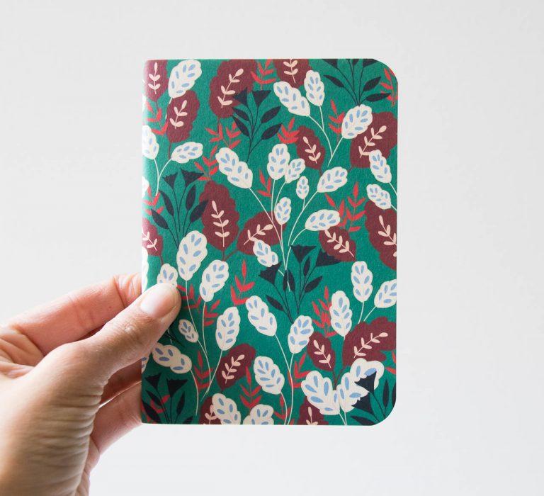 Carnet de poche - Bouquet d'oranger Atelier bobbie - maison mathuvu
