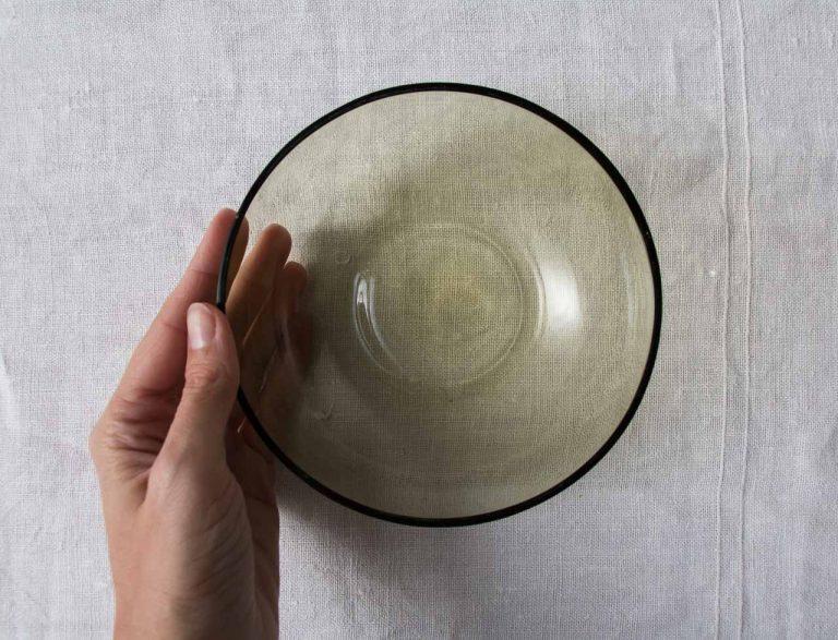 Coupelle en verre recyclé Bloomingville - maison mathuvu