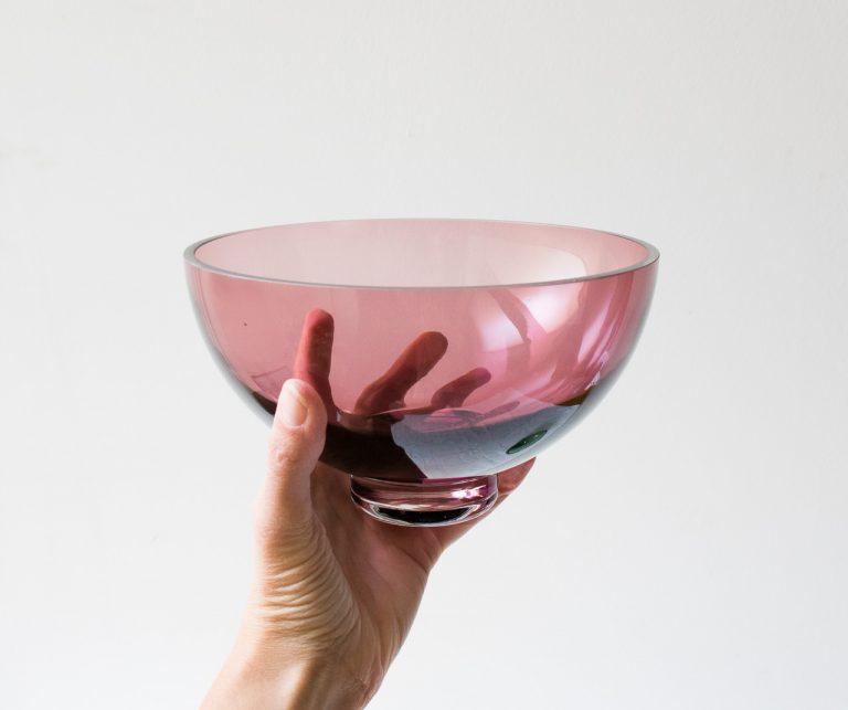Coupe en verre coloré Hubsch - maison mathuvu