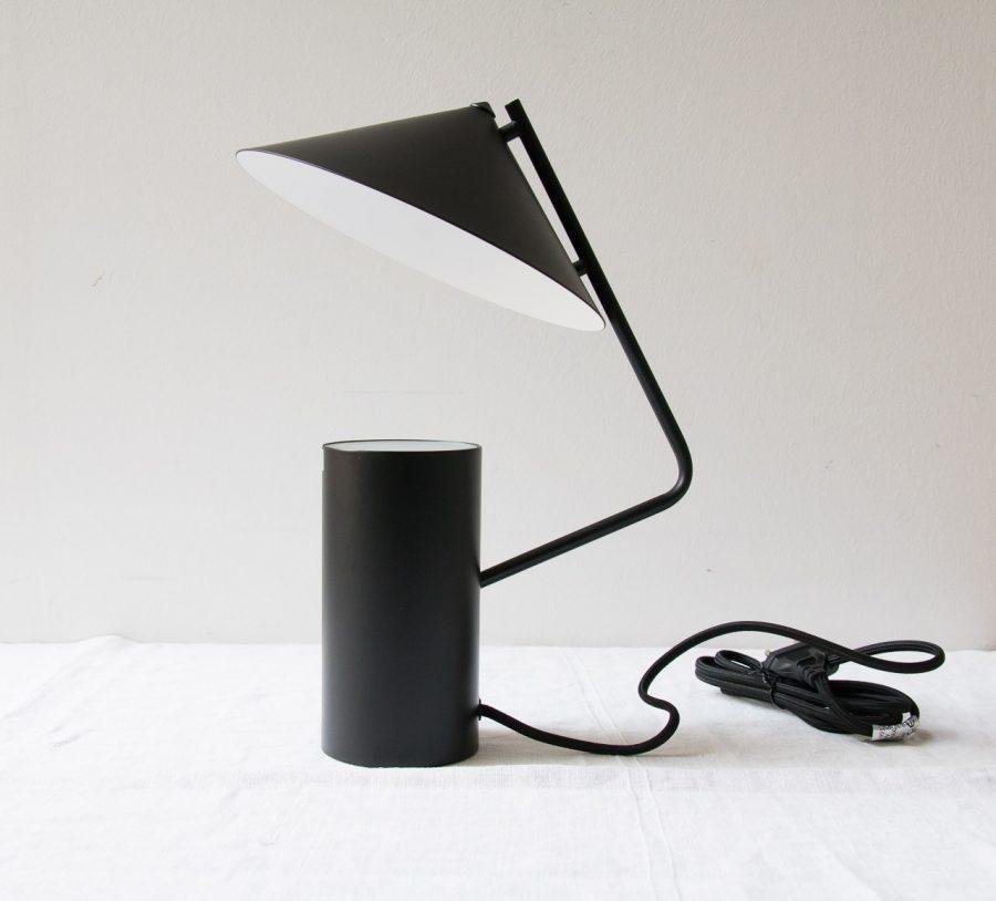 Lampe - Métal noir Hubsch - maison mathuvu