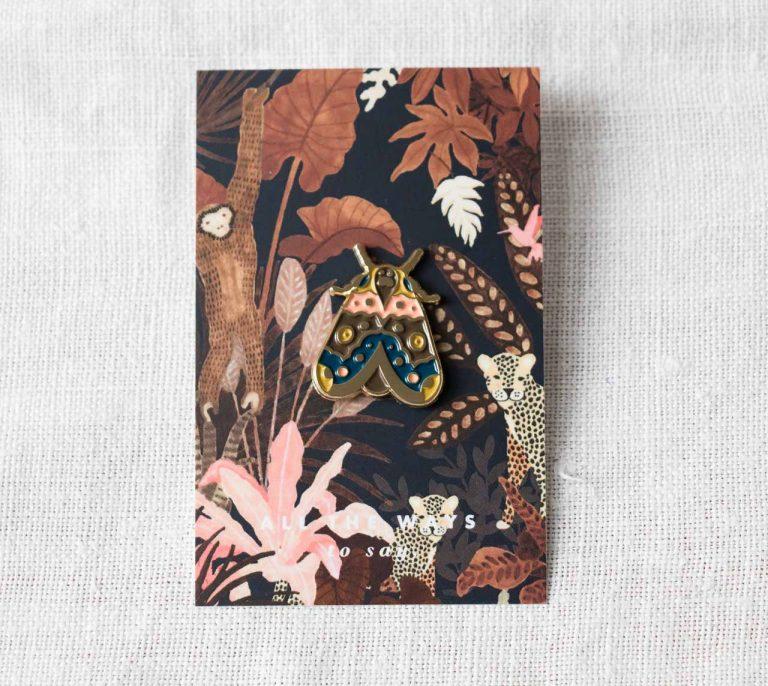 Pin's - Papillon All the ways to say - maison mathuvu