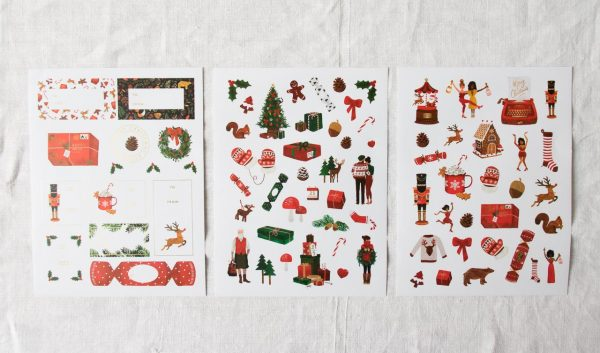 Stickers - Christmas All the ways to say - maison mathuvu