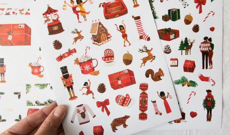 Stickers - Christmas All the ways to say - maison mathuvu