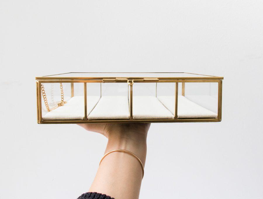 Boîte à bijoux - Carrée Hubsch - maison mathuvu
