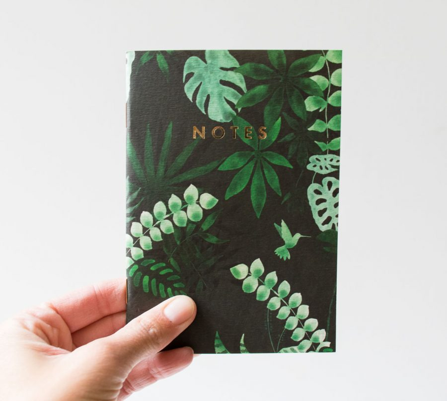 Carnet de poche - Monstera All the ways to say - maison mathuvu