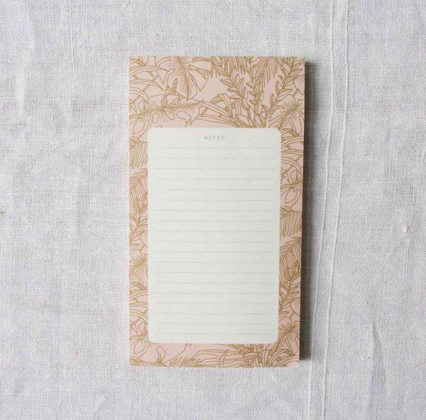 Bloc-notes - Abondance season paper - maison mathuvu