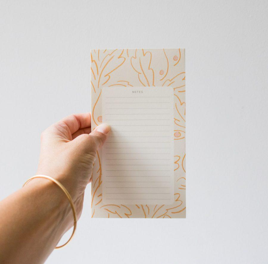 Bloc-notes - Liberté season paper - maison mathuvu