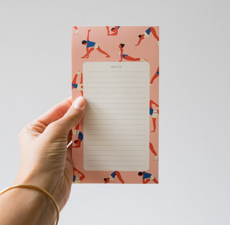 Bloc-notes - Yoga Season paper - maison mathuvu