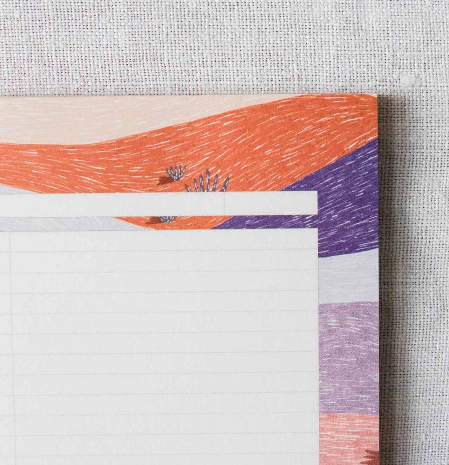 Bloc-notes - Désert imaginaire Atelier bobbie - maison mathuvu