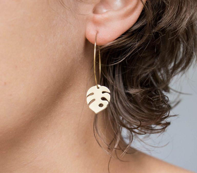 Boucles d'oreilles - Théa maison mathuvu