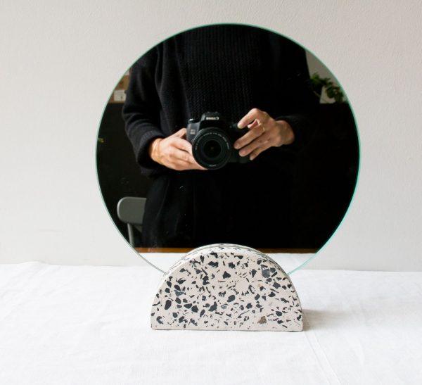 Miroir de table - Terrazzo Hubsch - maison mathuvu