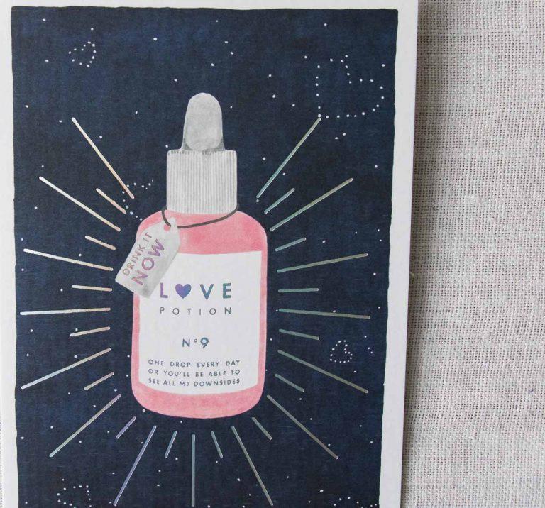 Carte - Love potion All the ways to say - maison mathuvu