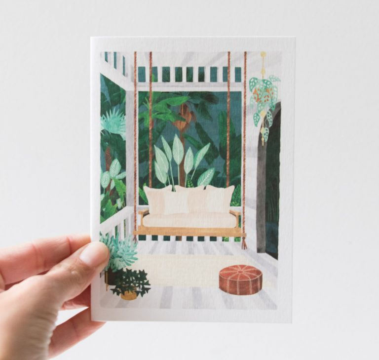 Carte - Porche All the ways to say - maison mathuvu