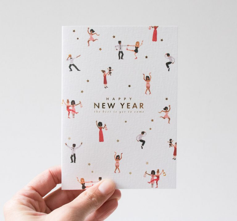 Carte - Happy new year All the ways to say - maison mathuvu