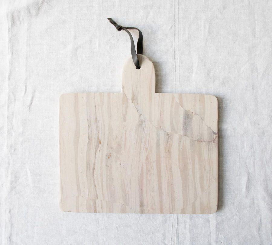 Planche en marbre - Etille Lene bjerre - maison mathuvu