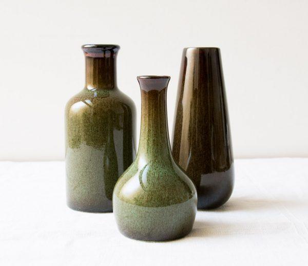 Vase - Vert kaki Hübsch - maison mathuvu