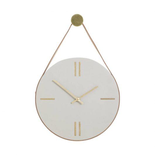 Horloge - Béton Hübsch - maison mathuvu