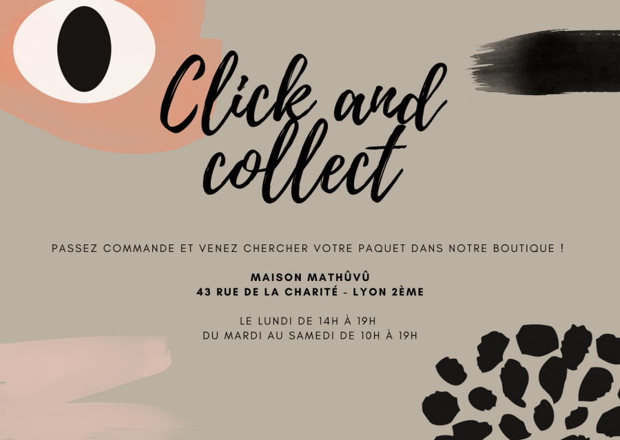 Click and collect pour le site Maison Mathûvû