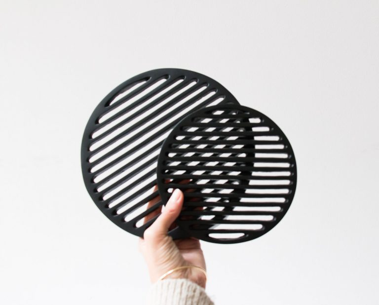 Dessous de plat - Métal noir House doctor - maison mathuvu