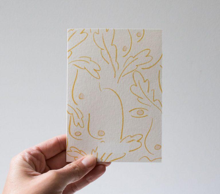 Carte - Liberté Season paper - maison mathuvu