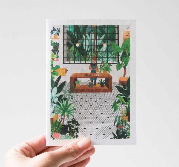 Carte - Jardinière All the ways to say - maison mathuvu