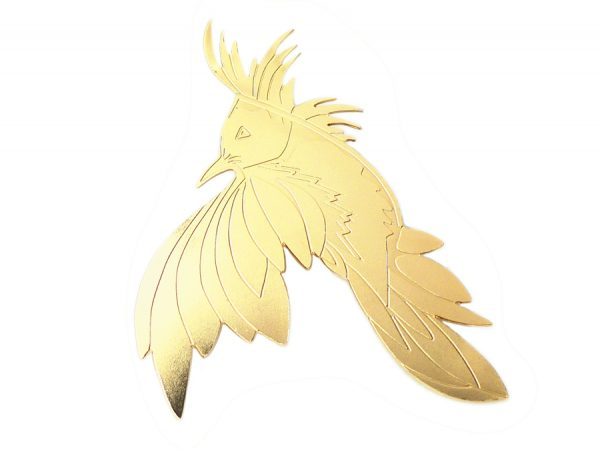 Broche - Oiseau Nadja carloti - maison mathuvu