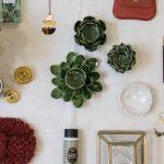 Bougeoir - Fleur verte Bloomingville - maison mathuvu