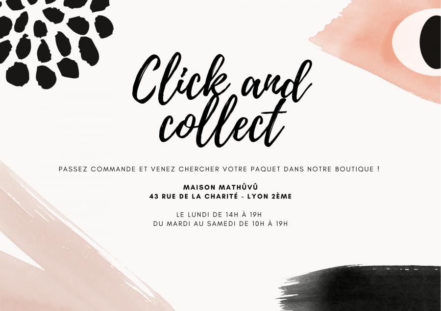 Click and collect site Maison Mathûvû